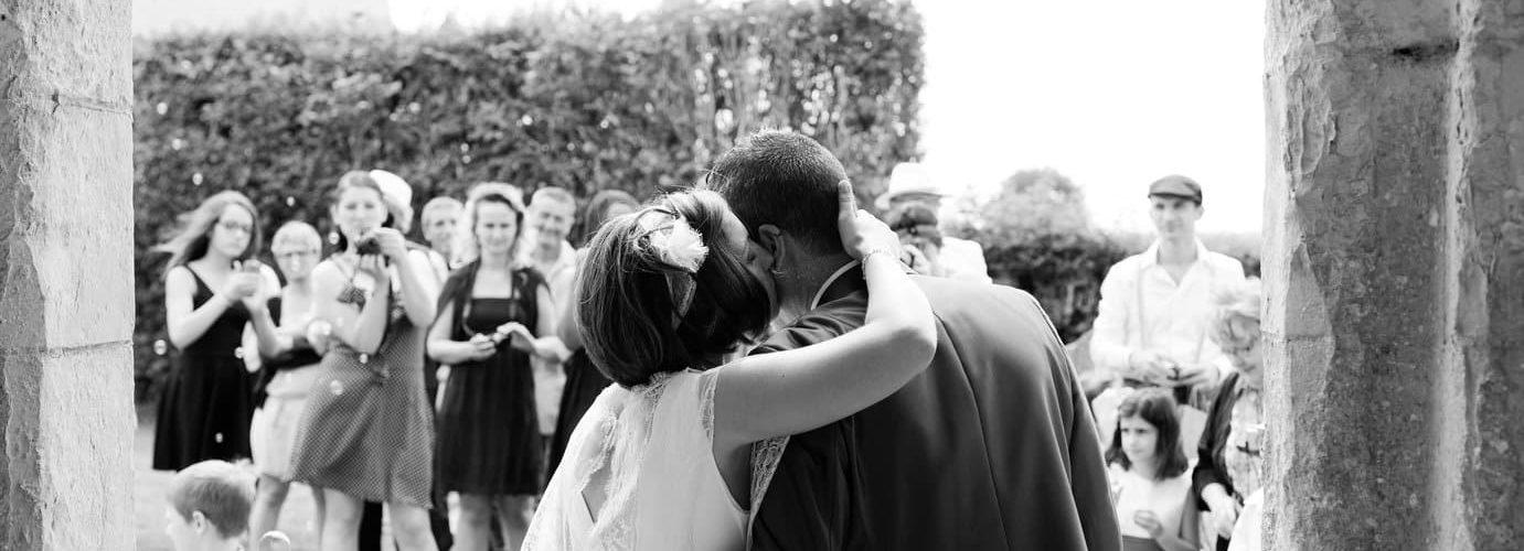 sortie des mariés église