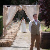 Découverte des mariés avant le mariage
