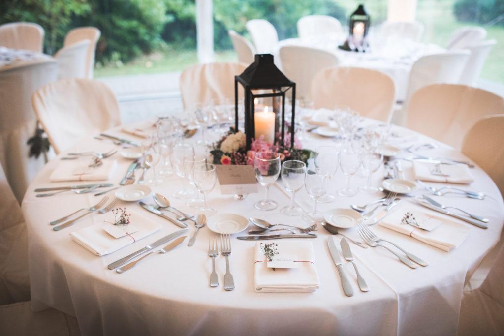 art de la table mariage orne