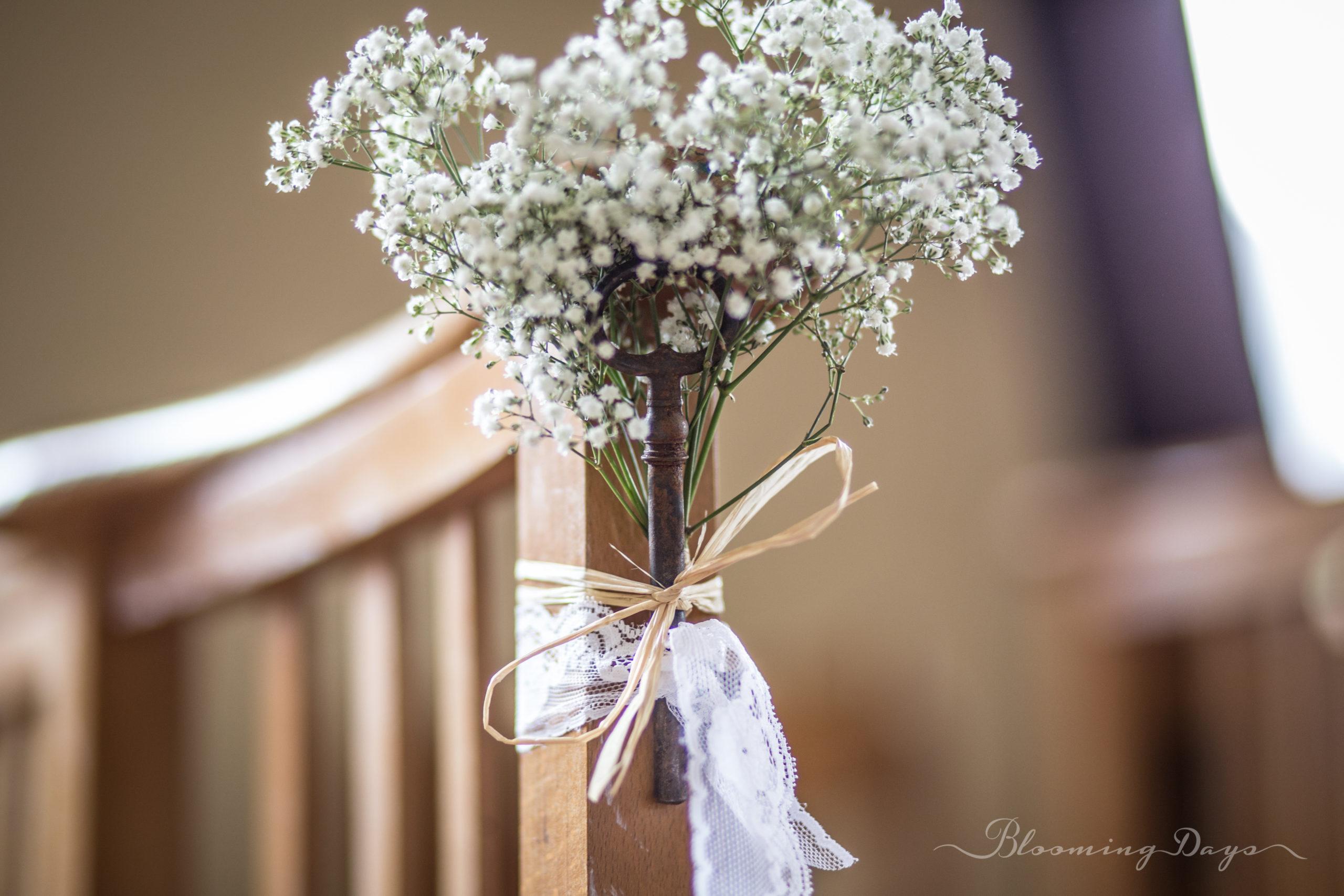 ceremonie religieuse decoration de mariage Normandie - Caen