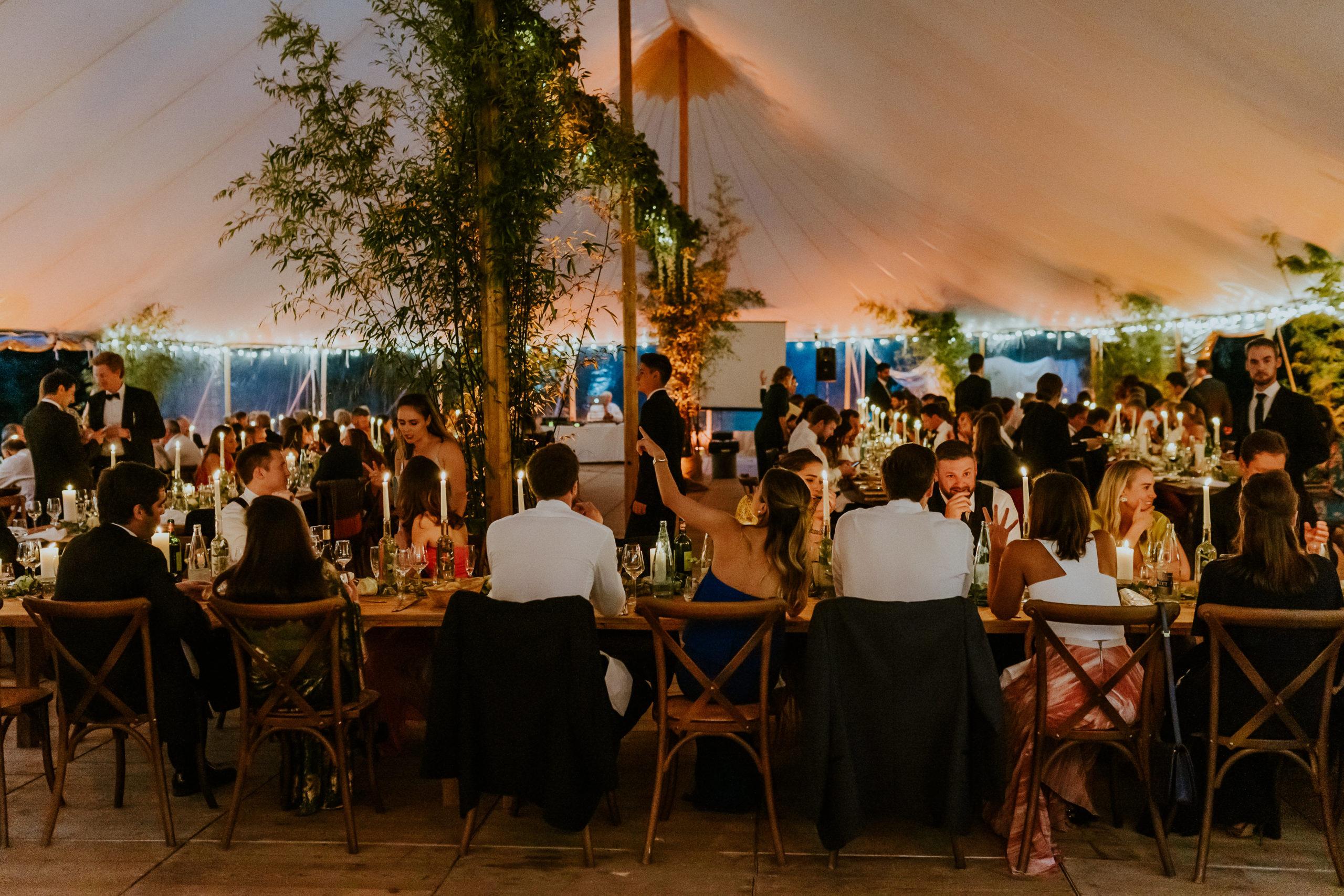 wedding design - diner de mariage - scenographie - CREDIT PHOTO : Nicolas Desvages