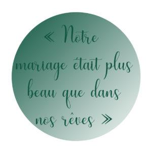 recherche avis décoratrice de mariage Normandie