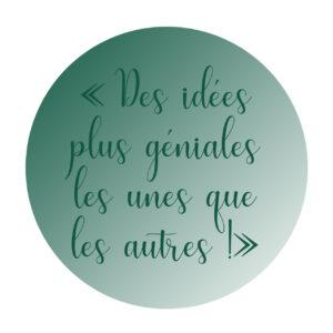 """""""des idées géniales"""" avis client décoratrice de mariage Normandie"""