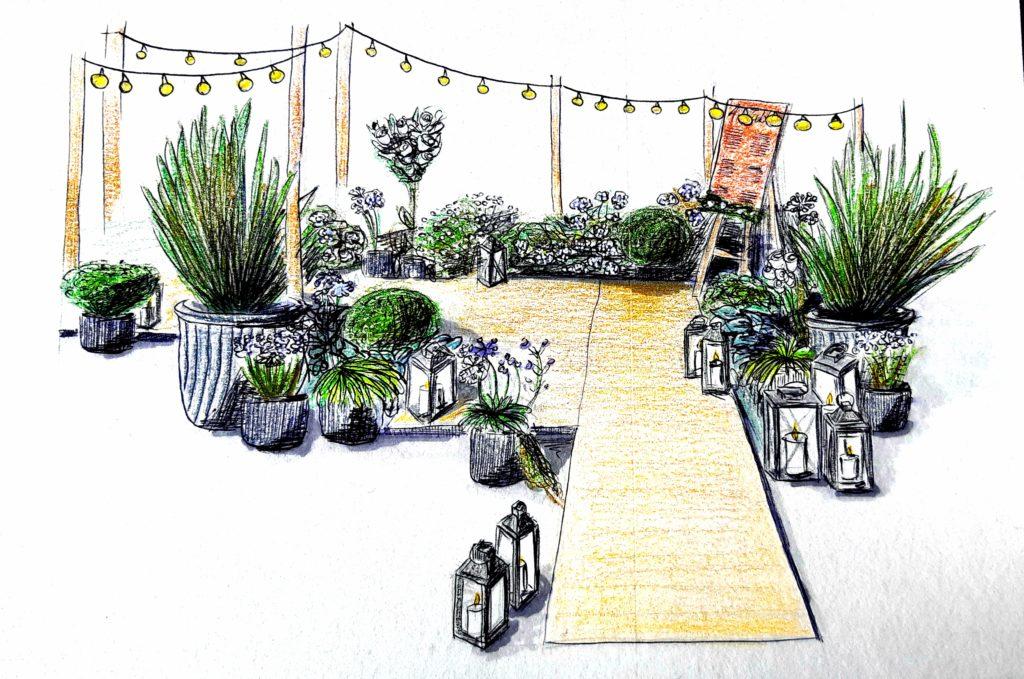 croquis-de-scenographie-decoration-de-mariage-dessin-perspective-mariage-original