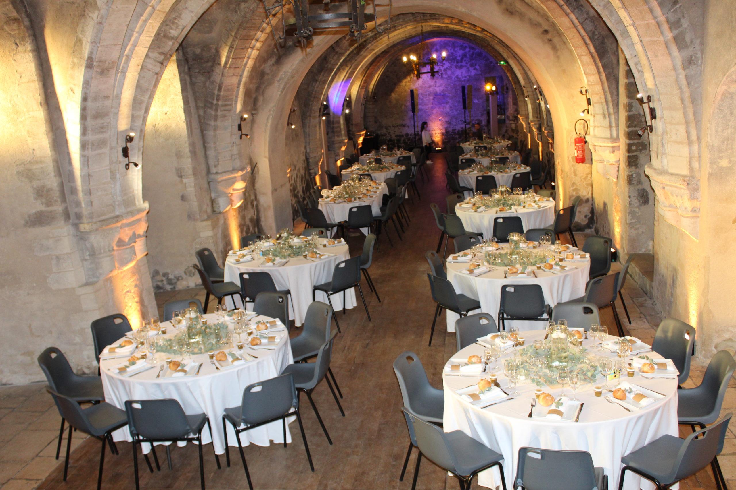 décoration de mariage au chateau de creuly calvados