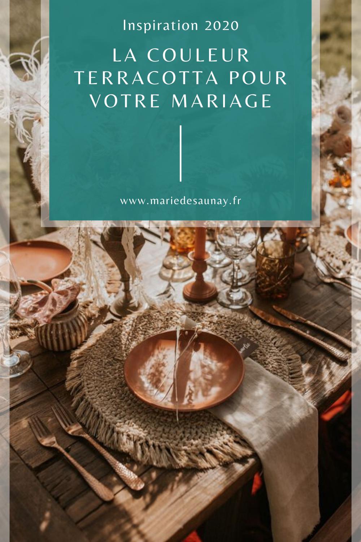 La couleur Terracotta pour votre mariage