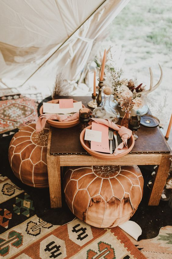 glamping wedding terracotta blog mariage