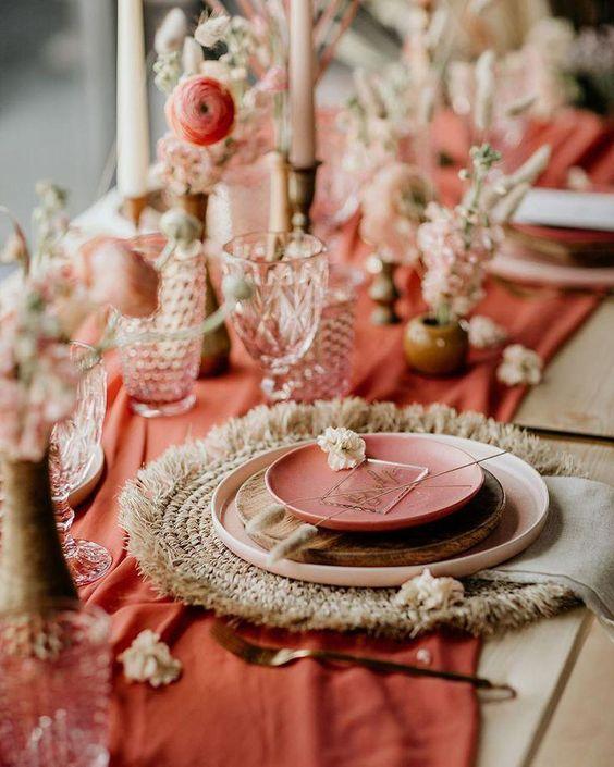 colorimétrie mariage blog décoration