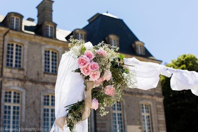 décoratrice mariage manche chateau saint-père-église