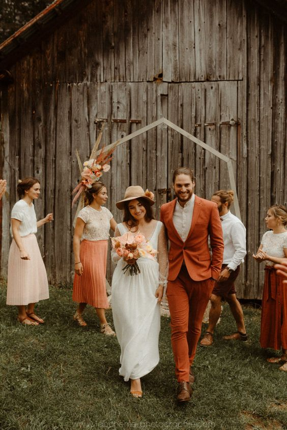 mariage-boho-terra-cotta