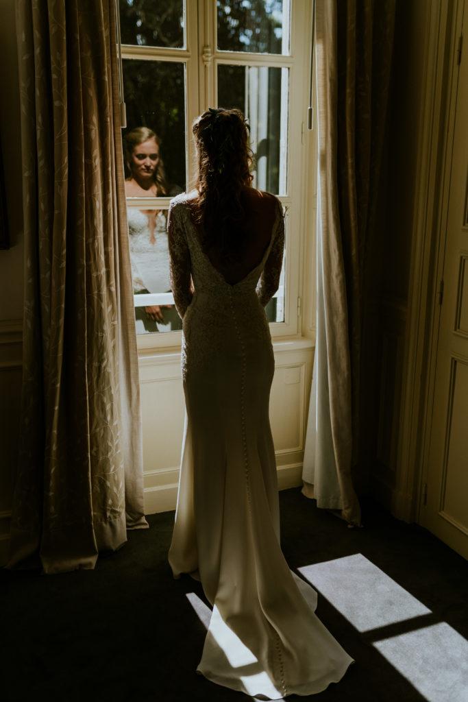 Robe de mariée Normandie Wedding design