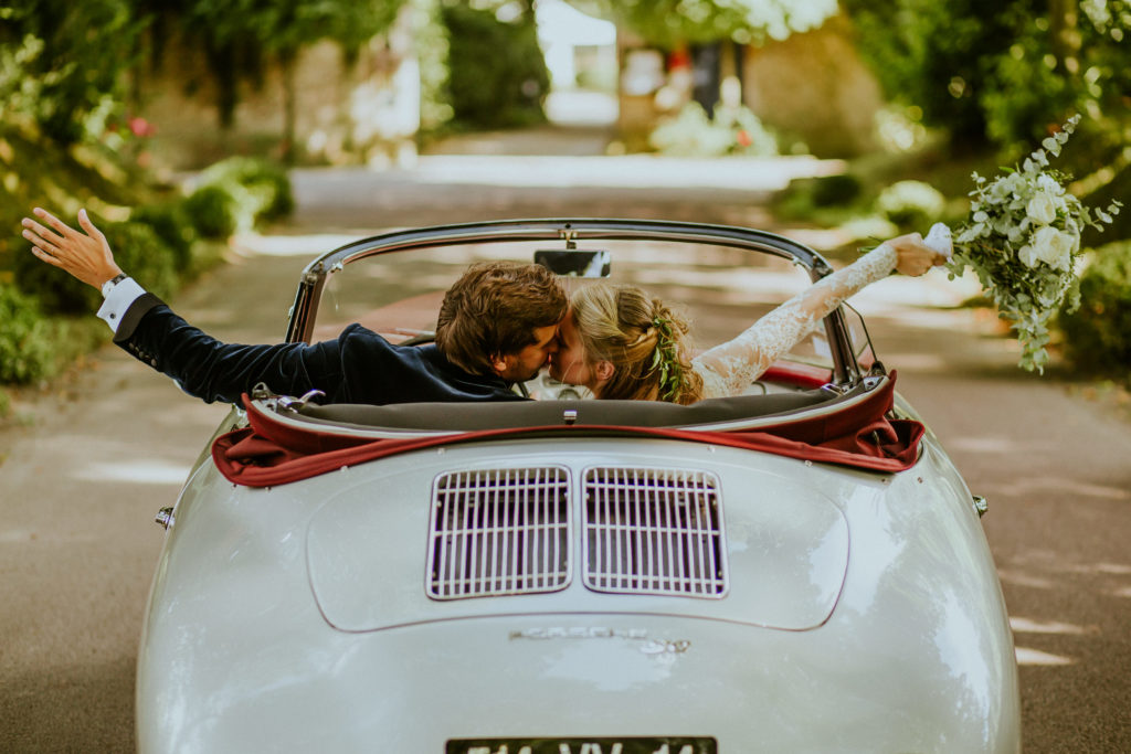 Mariage Porsche wedding designer Normandy