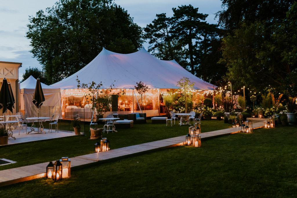 style mariage lumières lanternes inspiration décoration mariage nature