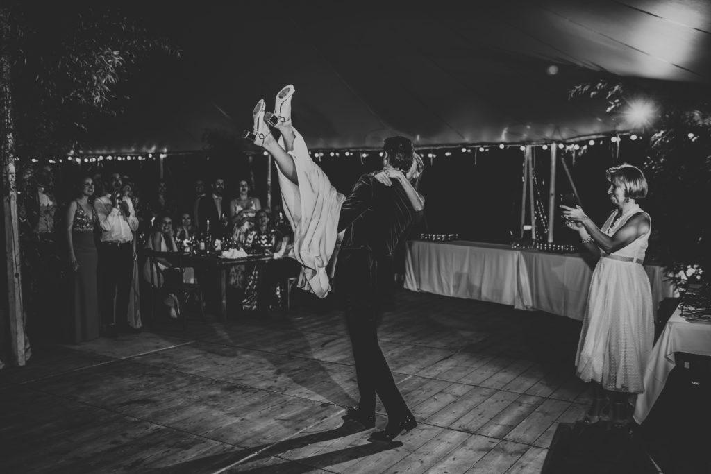 mariage en Normanide première danse des mariés