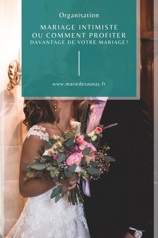Mariage intimiste ou comment profiter davantage de votre mariage?