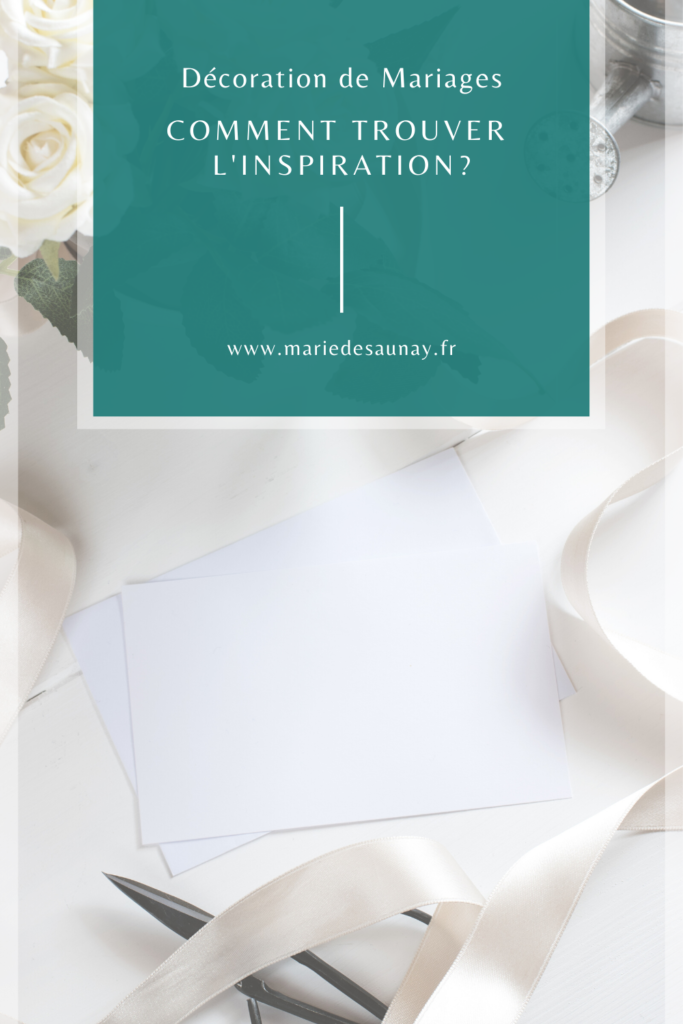 trouver inspiration mariage