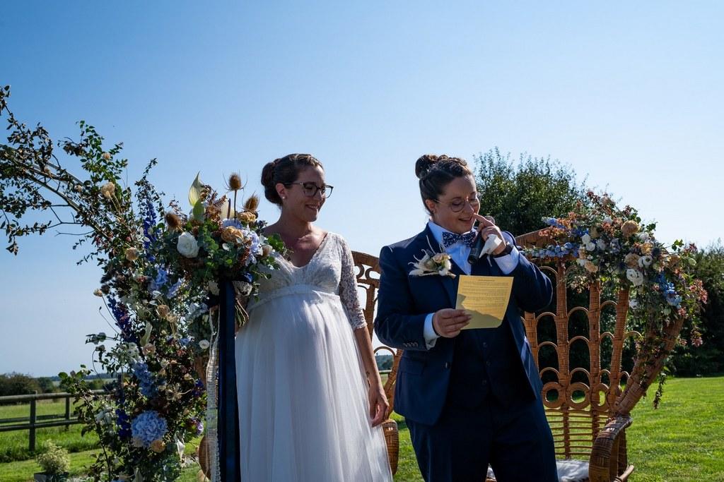 discours des mariées - mariage gay - cérémonie laïque