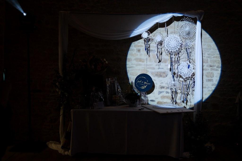 scenographie mariage lumiere