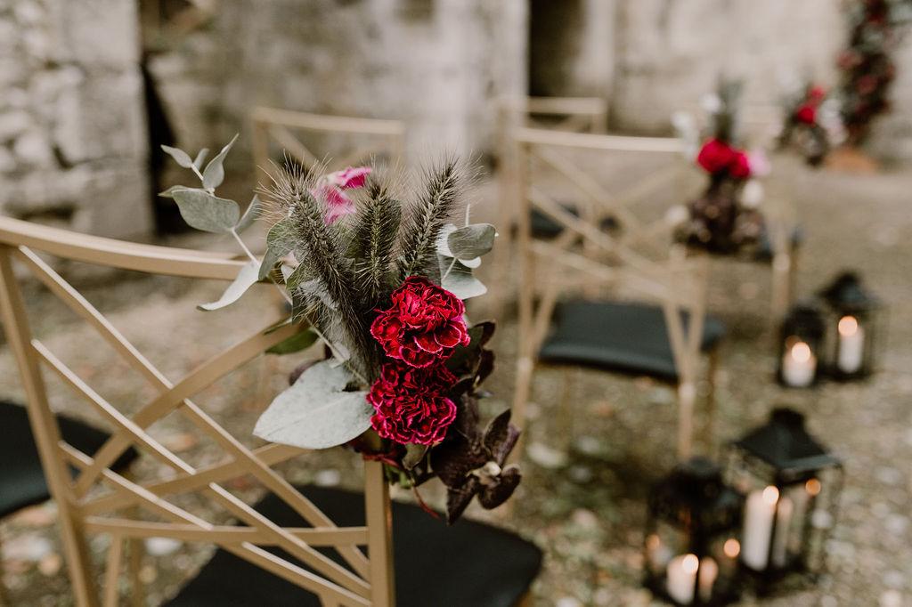 ceremonie laique normandie decoration  - CREDIT PHOTO : Anne Letournel