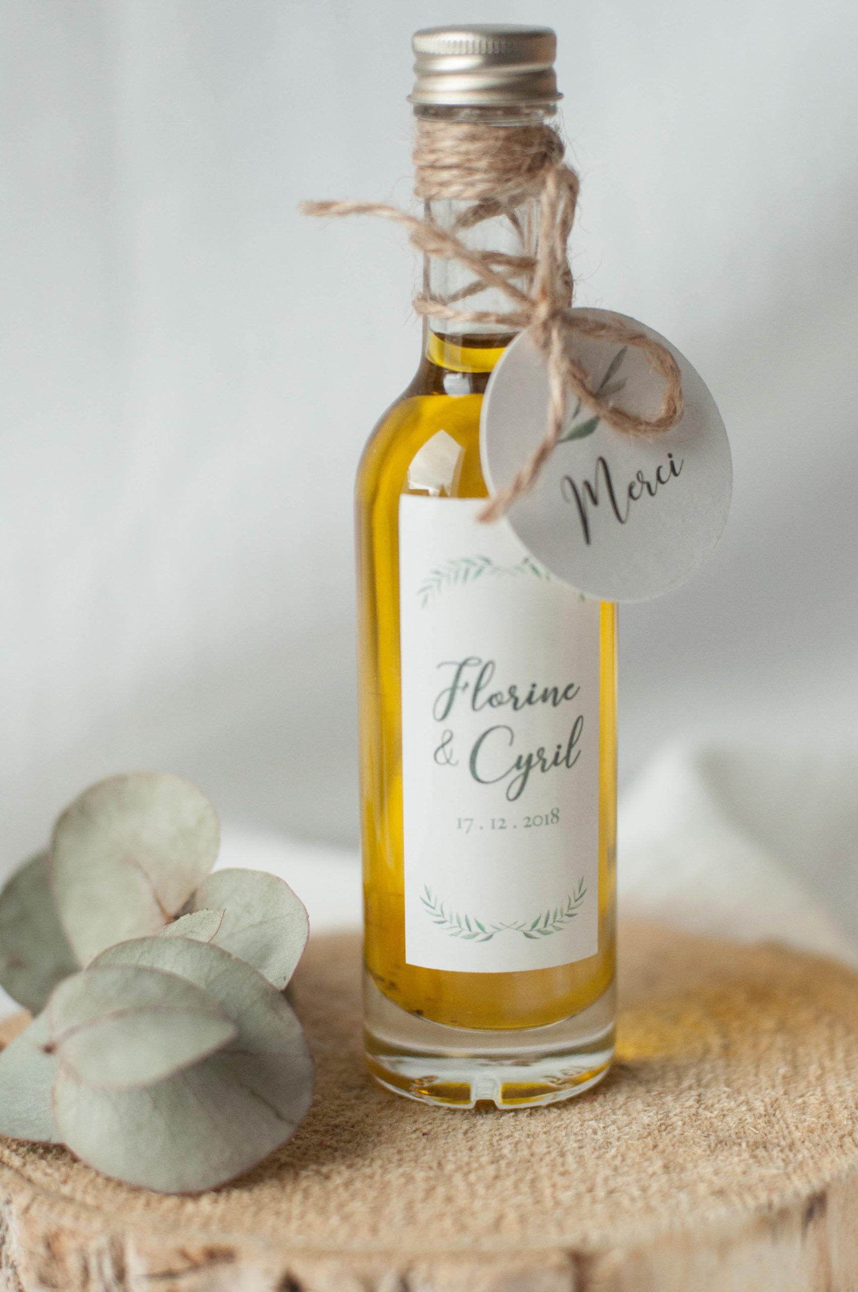 l'huile d'olive à offrir comme cadeau à vos invités