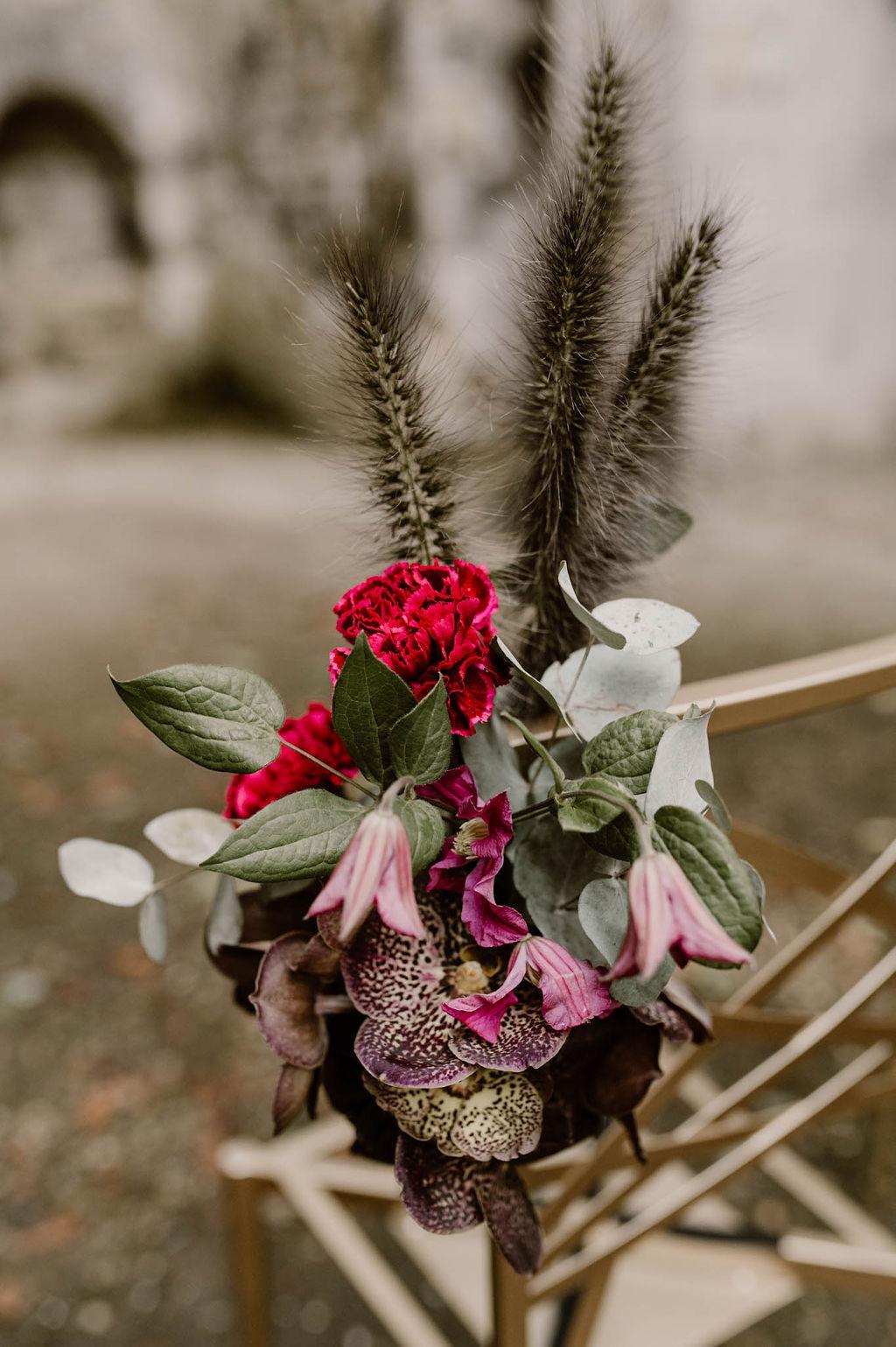 photo décoration mariage cérémonie laïque en extérieur normandie